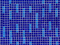 Colored ceramic mosaic tiles texture architectural Royalty Free Stock Image