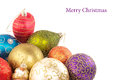 Colored Christmas decorations Stock Photo