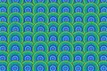 Colored circles background, illustration