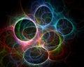 Colored Circles - Fractal Art