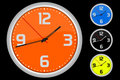 Colored clock Royalty Free Stock Photo