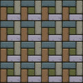 Colored Concrete paving slabs surface. Seamless texture