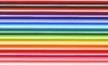 Colored Crayons Background