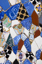 Colored decorative tiles. Vibrant retro vintage background. Royalty Free Stock Photo
