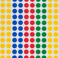 Colored dots Royalty Free Stock Photo