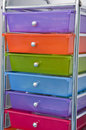 Colored drawer Royalty Free Stock Image