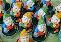 Image : Dwarfs shaped candles vintage