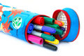 Colored felt tip pens Royalty Free Stock Photography