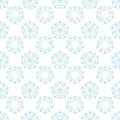 Colored flower pattern. Seamless background