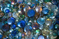 Colored glass stones texture of Stock Photo