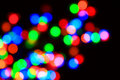Colored glowing blur lights Royalty Free Stock Image