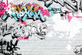 Colored graffiti Royalty Free Stock Photos