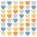 Colored heart background
