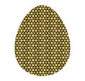 Colored icon of the Golden egg cells. the template for the Easte
