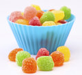 Colored jellies Royalty Free Stock Images
