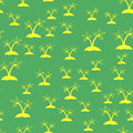 Colored Palm Seamless Pattern