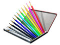 Colored pencil this is a Royalty Free Stock Images