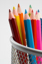 Colored pencils 3 Royalty Free Stock Image