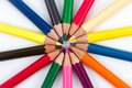Colored pencils 3 Royalty Free Stock Photography