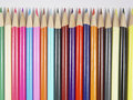 Colored Pencils 4 Royalty Free Stock Photos