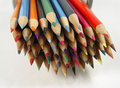 Colored Pencils 7 Stock Photography