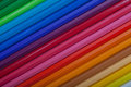 Colored Pencils Diagonal Royalty Free Stock Photo