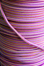 Colored ropes Royalty Free Stock Image