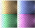 Colored scales patterns of Stock Image