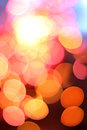 Colored sparkles abstract photo of bokeh close up Royalty Free Stock Photo