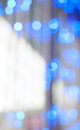 Colored sparkles photo bokeh in sunny day Royalty Free Stock Photography