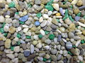 Colored stones beautiful on background Royalty Free Stock Images