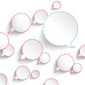 Colored Thought And Speech Bubbles Royalty Free Stock Photo
