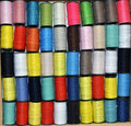 Colored thread Stock Images
