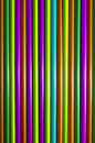 Colored tubes colorful vertical abstract background Stock Photos