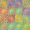 Colored twirls background Stock Photos