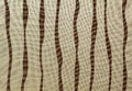 Colored vertical stripes on fabric. Royalty Free Stock Images