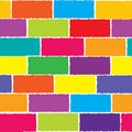 Colored wall Stock Photography