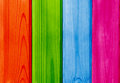 Colored wooden planks backdrop closeup view Royalty Free Stock Photography