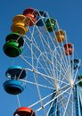 Colores of big wheel Stock Photo