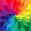 Colorful Abstract Background.Intersecting Stripes Expanding from Center Twisted in Vortex