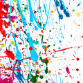 Colorful abstract background paint Royalty Free Stock Photo