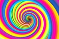 Colorful abstract background psychedelia