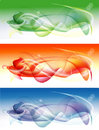 Colorful abstract banners Stock Photos