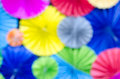 Colorful abstract blurs background vivid Stock Image