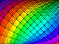Colorful abstract cube backgroun Stock Image