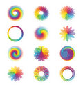 Colorful abstract designs Stock Image