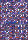 Colorful abstract freehand pattern Royalty Free Stock Photo