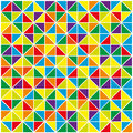 Colorful abstract geometric background triangles for design vector illustration Stock Photos