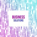Colorful abstract geometric business background. Violet, pink and blue geometric shapes random mosaic
