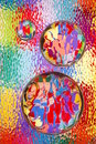 Colorful Abstract with Glass Royalty Free Stock Photos